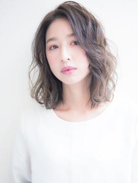 《MAXBEAUTY GINZA☆人気セミウェットロブヘア》