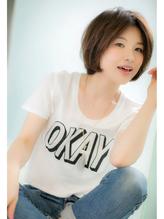 【Euphoria銀座】OKAYボブ☆ 担当 斎藤 センター分け.58