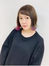 Lia&汐見悠佑 大人のラベンダーインナーカラー.27