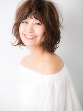 【Euphoria 金沢】無造作ミックスカールのショートボブ♪.52