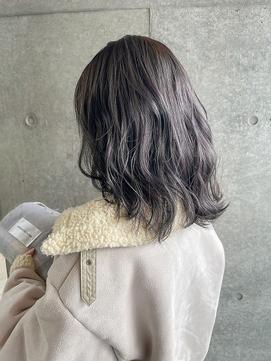 【verda】ブリーチなしダブルカラーアッシュグレージュ