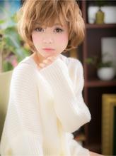 *+COVER HAIR+*…ふわくしゅ☆ガーリー☆ショートボブa オフィス.55