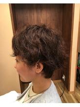 クセ毛にチャレンジ☆癖毛さんカット☆.34