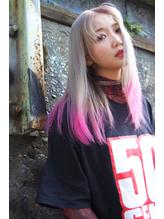 【DIORAMA】NEON PINK/ホワイト&ピンク.59