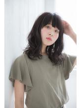黒髪☆清楚☆就活☆ナチュラル☆デジタルパーマ.0