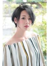 【HAPPINESS】耳掛けエアリーショート【永田志織】.54