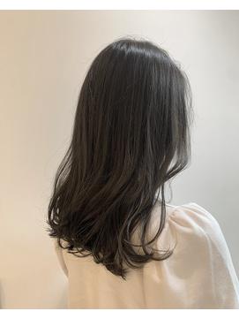 【Zina渋谷】大人かわいいブルージュカラー