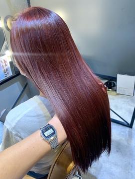 #髪質改善 #オッジオット #ピンクブラウン