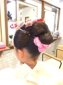 七五三 新日本髪