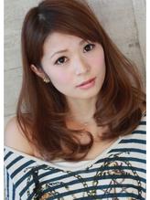 ★★★[ハニーヘア]マーメイドアッシュ小顔斜めバング★★★ 好感度.40