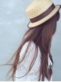 お客様の髪や地肌に優しい、オーガニックカラーを使用◎繰り返しカラーをしてもツヤ感としなやかさが違う♪