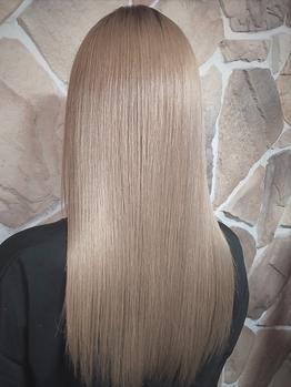 《TOKIOトリートメント¥5500/サイエンスアクア¥8800/縮毛矯正¥9900》髪質改善で圧倒的美髪[亀戸駅/大島]