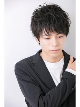 Euphoria/小松/ビジネス好感度MAXヘア黒髪スーツ