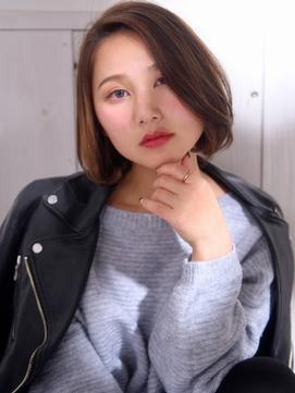 【aoba/高田馬場】大人かわいいボブ×ブルージュ 30,40代にも◎