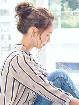 K-two小顔set/ゆるくて大人っぽいお団子アレンジ/天王寺