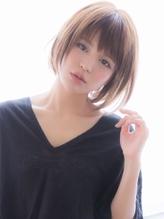 【aRietta/銀座】 大人かわいい 小顔 前下がりボブ .39