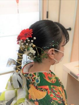 【生花と組紐で作る最新ヘア!】大人気組紐アレンジ