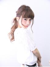 小顔×外国人風×ひひーんポニーテール ポニーテール.53