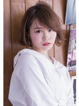 斜めバング大人ショートボブ【Mallely by lico】03-5579-9233.58