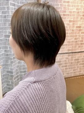 《Chloe/倉敷》 大人×ショート♪  色(ナチュラルブラウン)