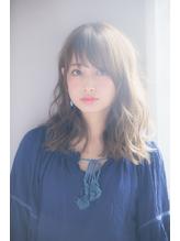 【drive for garden西川】バレイヤージュ・デジタルパーマロブ うるツヤ.42