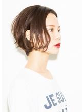 【Euphoria】美人度UP☆こなれ感☆耳かけショートボブ☆ 前髪パーマ.46