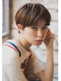 【+~ing 】高円寺ショート 外国人風コンパクトber【畠山竜哉j
