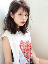 ボルドー×セミウェット☆暗髪系大人モードボブ.1