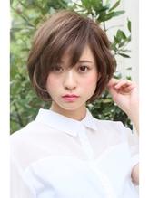 大人かわいい小顔デジタルパーマデザインカラー 40代.25