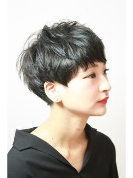 【RISK 高橋勇太】三鷹 カットが上手い 黒髪クールショート