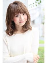 ロエナ ナチュラルひし形シルエット☆くびれミディワイドバング OL.53