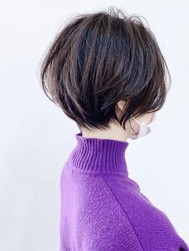 【morio成増 セリザワ】丸み と くびれ ショートボブ