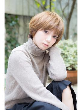 【ROSSO】真木よう子風目力UP☆大人小顔見せショート