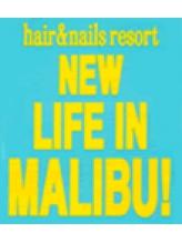 ヘアーアンドネイル アイラッシュ リゾート マリブ(Resort MALIBU!)