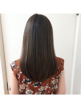 美髪トリートメント縮毛矯正ストレート&デジパーマのストカール