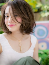 *COVER HAIR*くせ毛風♪ニュアンス前下がりボブa セクシー.31