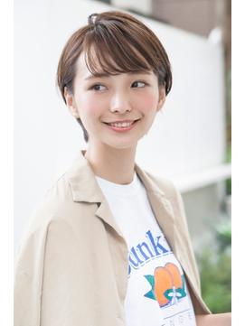 【LANY 横浜】透け感バング×イルミナモカブラウン
