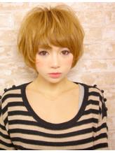 美髪 マニッシュショート フレンチボブ かきあげもOK.23