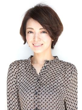 ミセスのショートミディアム【リノヘアーデザイン佐合】