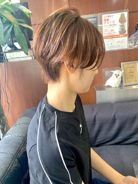 [QUALIS]縮毛矯正/ストレート/ショート/ベリーショート/丸みボブ