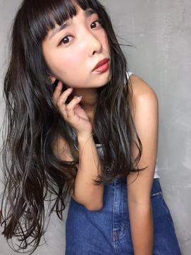 ◆オン眉×くすみカラー【イルミナ/髪質改善オージュア】