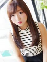 【ヘアジュレドゥ古居】 さら艶シックな美ストレート☆ 清純.40