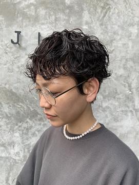 【JILI】ベリーショート パーマ  ◎上辻担当