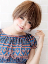 《Agu hair》王道かわいい小顔ショート.26