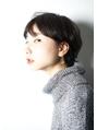 salonV 黒髪ショートスタイル1