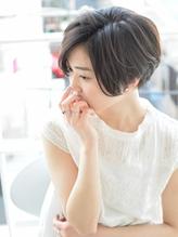 【butterfly常盤大地】2017 夏 秋 黒髪 前下がりショートボブ 2017,ショート.41