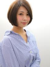 【An nelle】大人かわいい丸みショートボブ.52