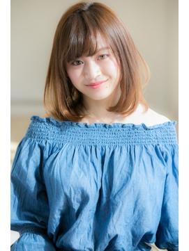【Euphoria銀座本店/斎藤】ナチュラル小顔ワンカール