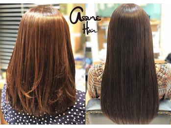 ヘアーアンドメイク アシュレ(Hair&Make assur'e)(宮城県仙台市青葉区/美容室)