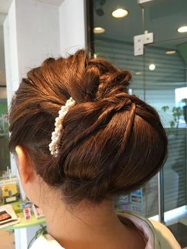 結婚式へのヘアセット